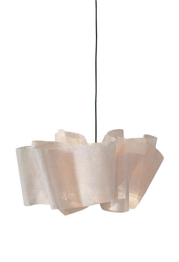 Luminária em fibra de banana - studio Pinch