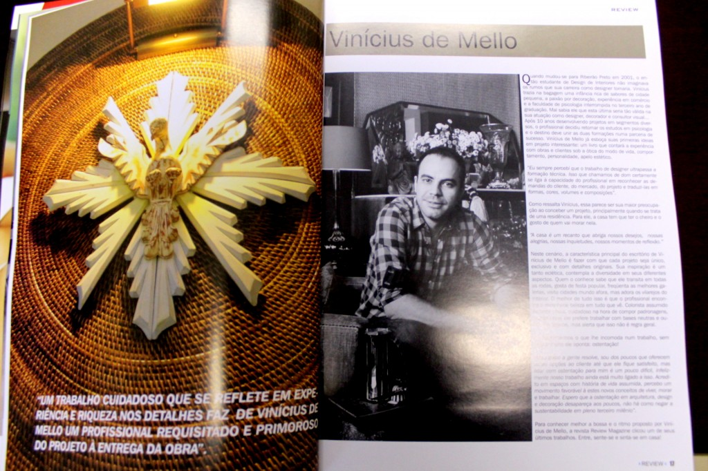 revista Review - Vinícius de Mello