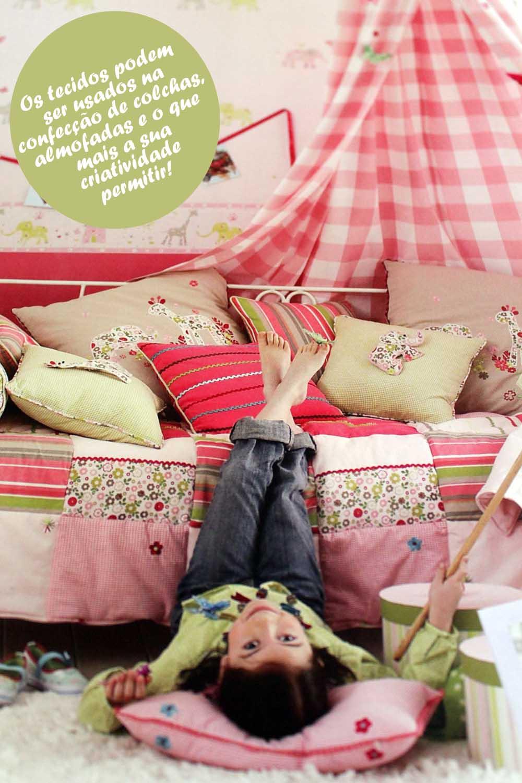 decoração com tecidos quarto de bebê