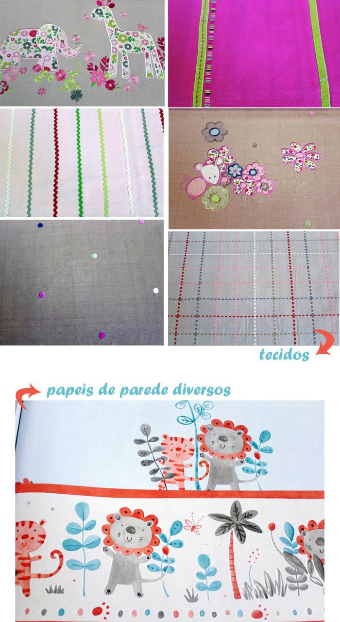 papeis e tecidos