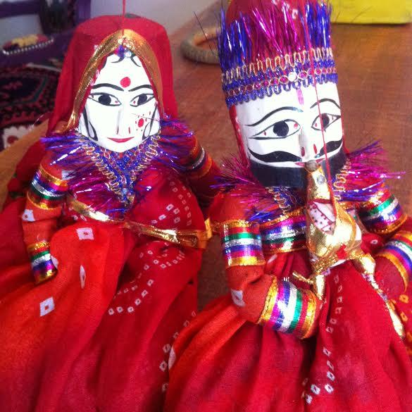 bonecos indianos